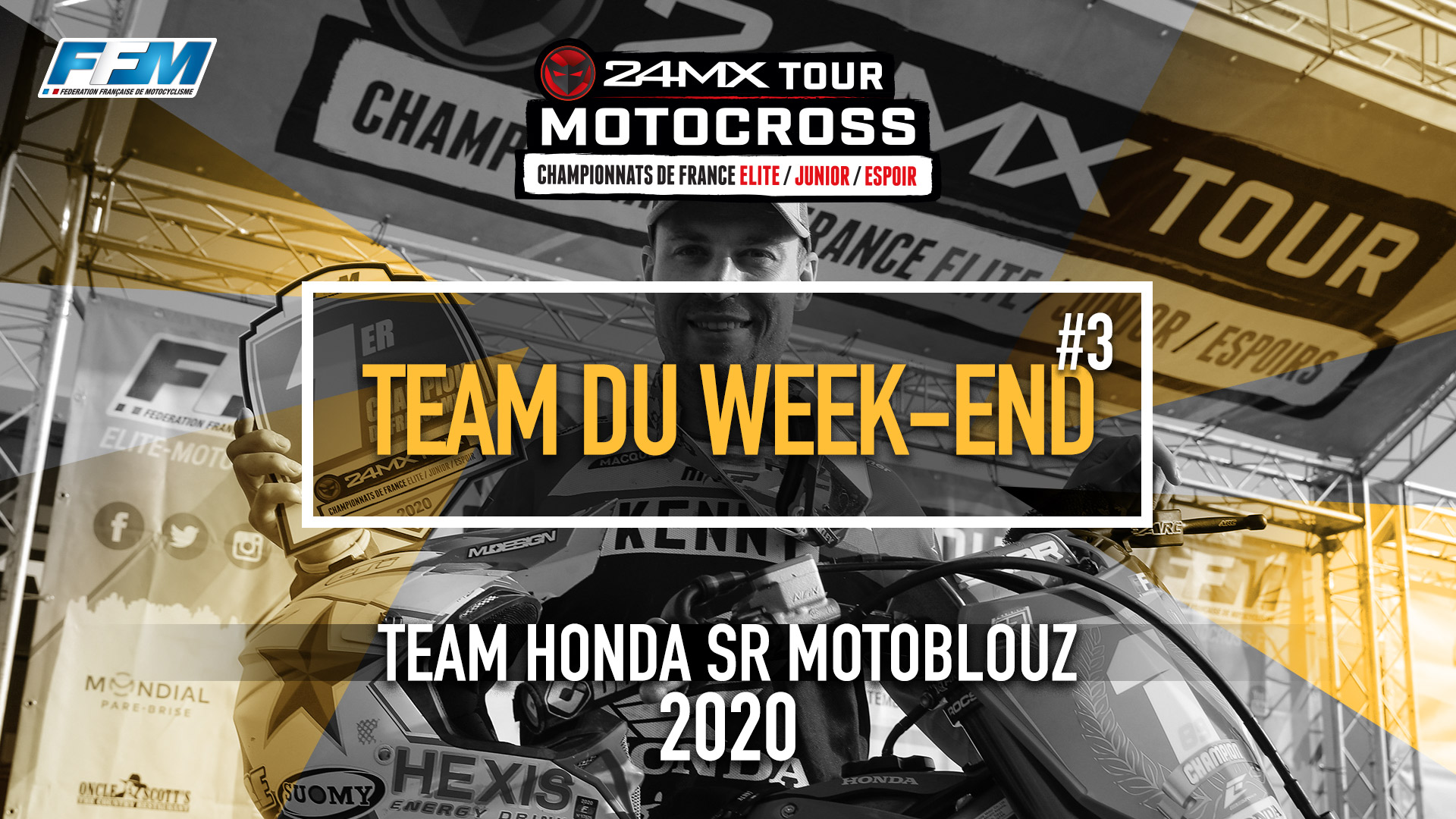 // LE TEAM DU WEEKEND – TEAM HONDA SR MOTOBLOUZ //