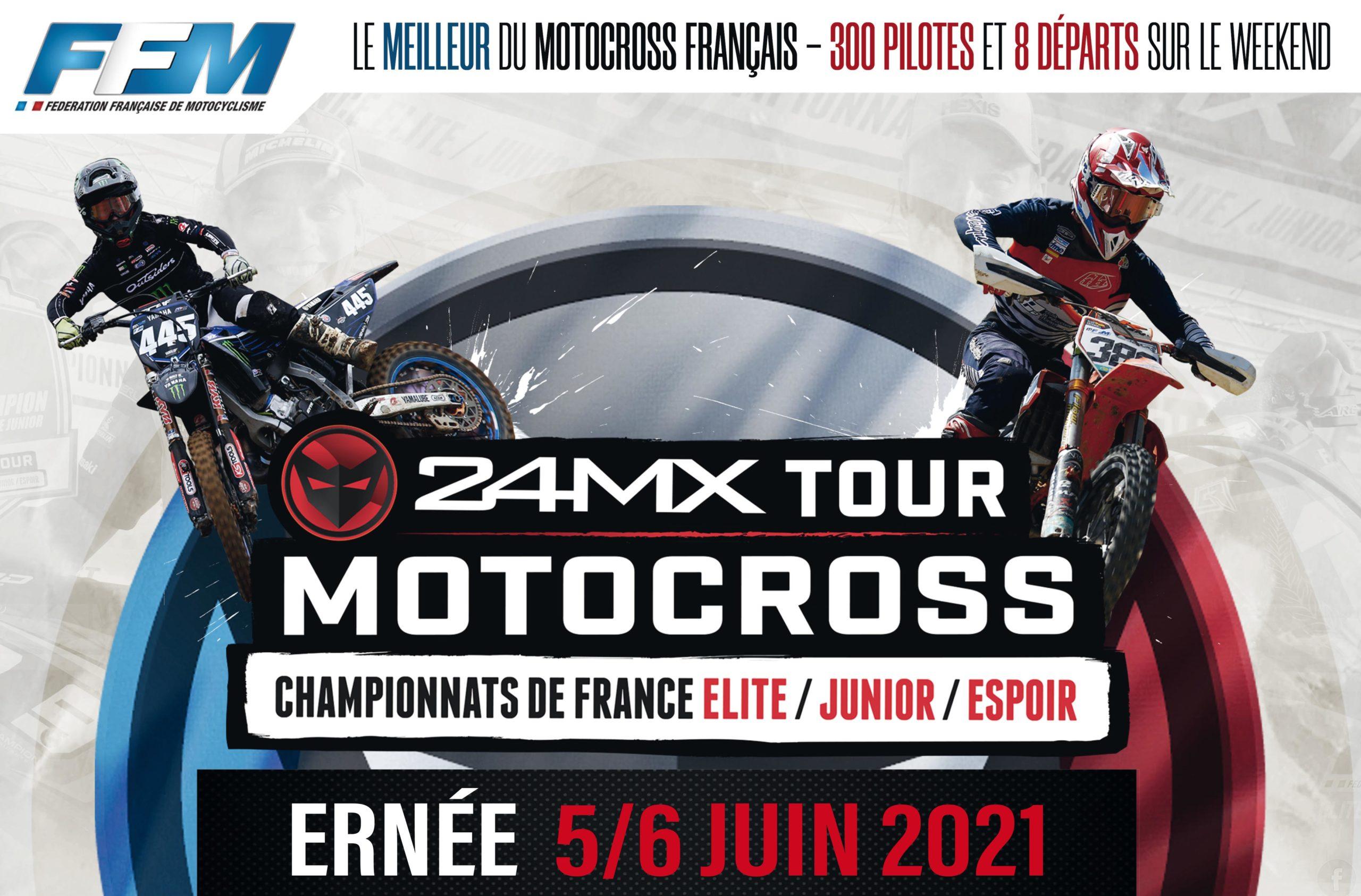 Ouverture du 24MX Tour à Ernée sur un air de GP