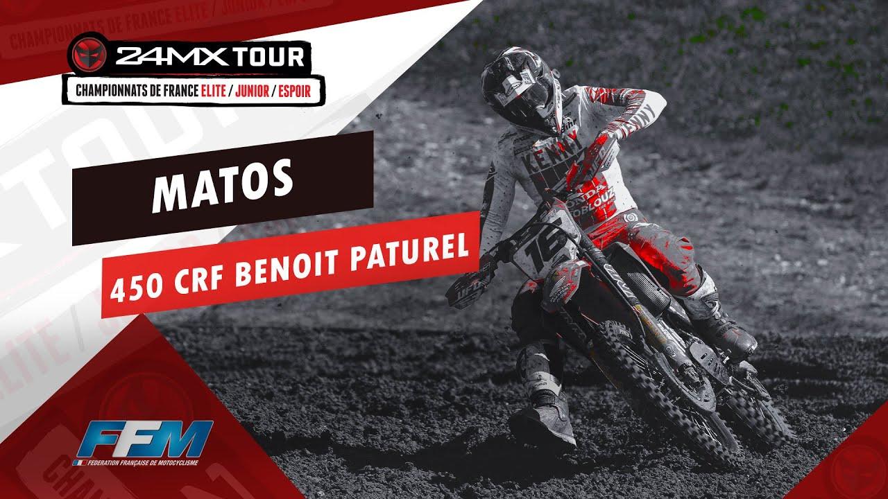 // MATOS 450 CRF BENOIT PATUREL //